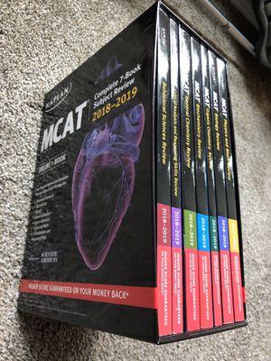 2018-2019 Kaplan MCAT books (no tests) for Sale in Seattle, WA