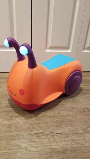 Toddler ride on snail. for Sale in Rockville, MD
