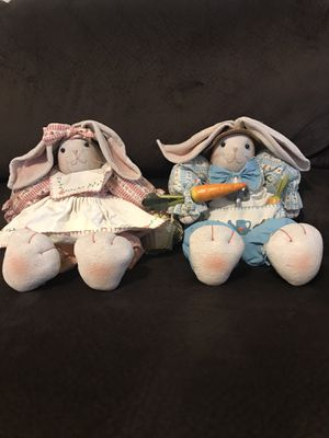 Pair of Decorative Rabbits for Sale in Sacramento, CA