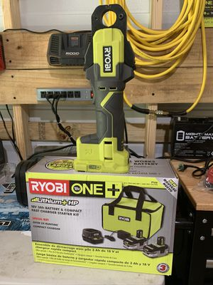 Ryobi per tool missing screw cost 99cents works great now with 2 battery pack kit not negotiable for Sale in Plant City, FL