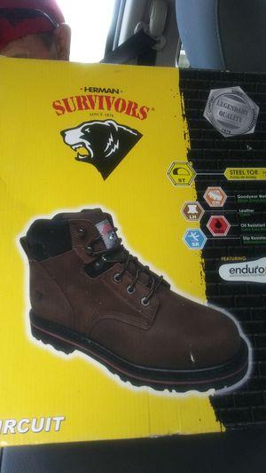 Work boots ( survivors) for Sale in Salt Lake City, UT