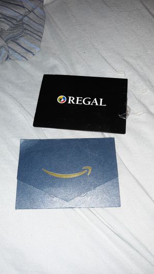 Amazon and regal for Sale in Albany, NY