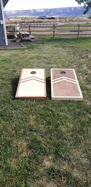 Cornhole boards for Sale in Grand Junction, CO