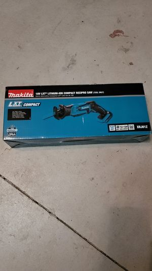 Makita 18V LXT Lithium-Ion compact recipro saw(tool only) for Sale in Estero, FL