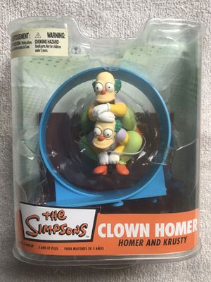 McFarlane Simpsons Clown Homer for Sale in Redford Charter Township, MI