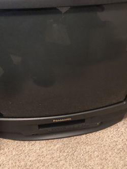 Panasonic PV-C2541 CRT 25 Inch TV/VCR/FM Radio for Sale in Fairfax,  VA