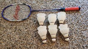 Brand New Badminton Racquet & Balls for Sale in Plano, TX