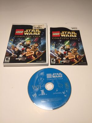 Star Wars: The Complete Saga for Nintendo Wii/ Wii U Compatible Models! for Sale in Concord, CA