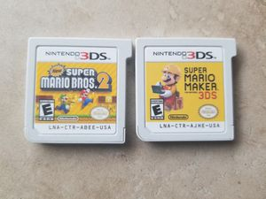 NINTENDO 3DS 2DS GAMES for Sale in Ontario, CA