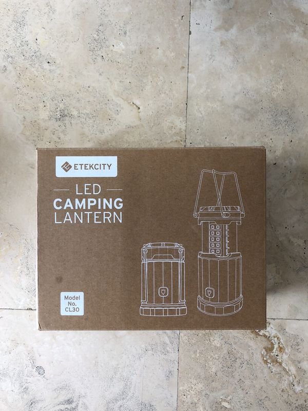 LED Camping Lanterns (2)