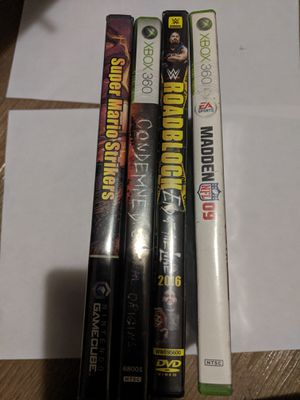DVD/Games for Sale in San Francisco, CA