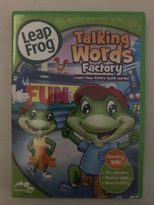 Leap Frog Talking Words Factory Educational DVD for Sale in Stockton, CA