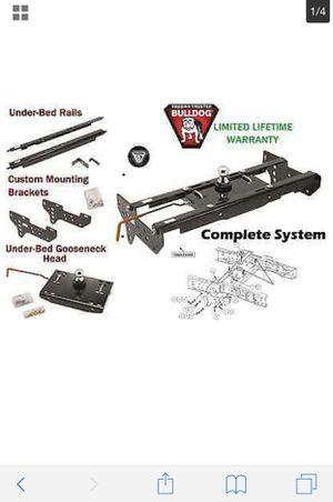 Bulldog gooseneck trailer hitch system(New) for Sale for sale  Atlanta, GA