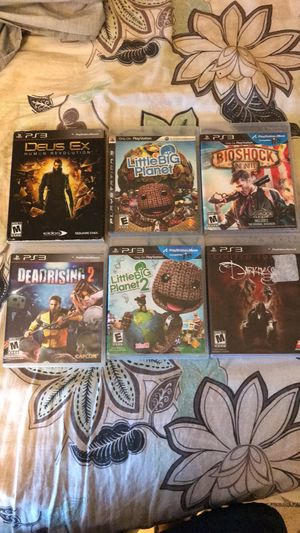 PlayStation 3 video games for Sale in Bailey's Crossroads, VA