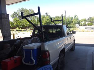 Ladder rack 2peice.....soild metal for Sale in Arvada, CO