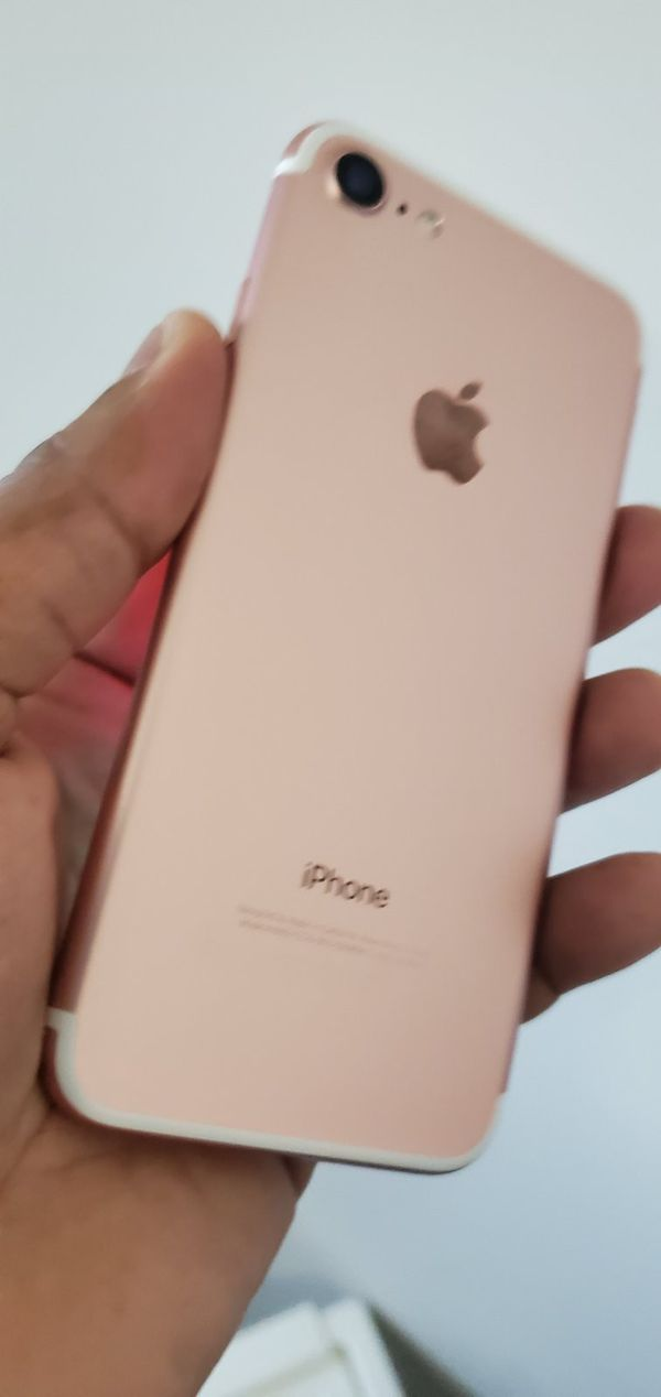 """iPhone 7, """"∆!Factory Unlocked & iCloud Unlocked.. Excellent Condition, Like New..."""