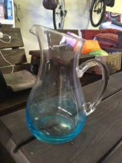 Blue Glass Pitcher for Sale in San Marcos, CA
