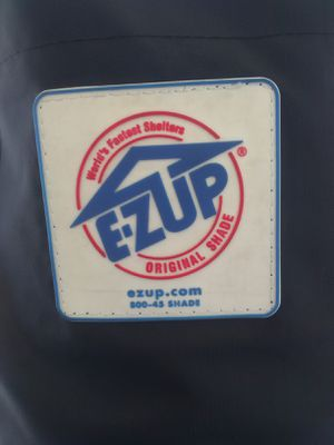 EZ-UP Ambassador 10'x10' canopy used one time for Sale in Orange, CA