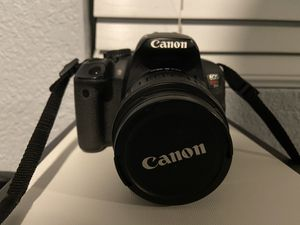 Canon t4i with 2 lenses for Sale in Ramona, CA