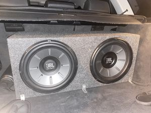 Two 12 inch JBL Subwoofers for Sale in Irvine, CA