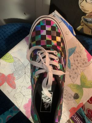 Size 8 woman's vans. for Sale in Dallas, TX