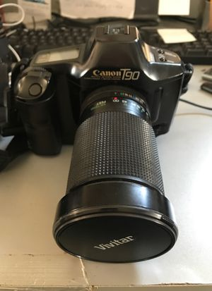 Canon T90 film camera with lens for Sale in West Collingswood Heights, NJ