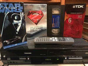 Toshiba DVD/VHS/***DIVX region 1 player for Sale in Fontana, CA