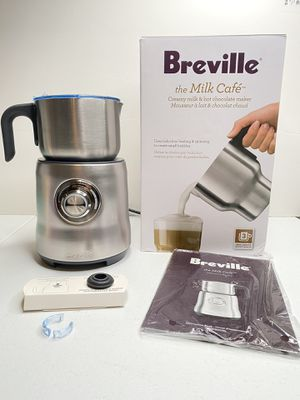 Breville Milk Cafe Standalone 25oz Variable Temperature Hot/Cold Frother Fast & Easy! for Sale in Angleton, TX