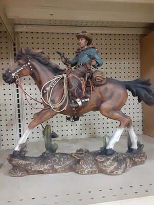 Cowboy in a horse for Sale in Farmers Branch, TX