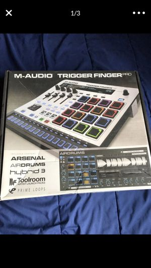 M audio trigger finger pro for Sale in Fontana, CA