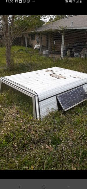 Camper shell for reg bed for Sale in Crosby, TX