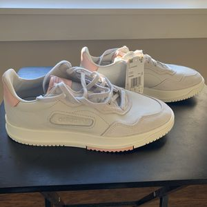 Adidas SC Premiere Off White Linen Pink Shoes Men's 9 for Sale in Ithaca, NY