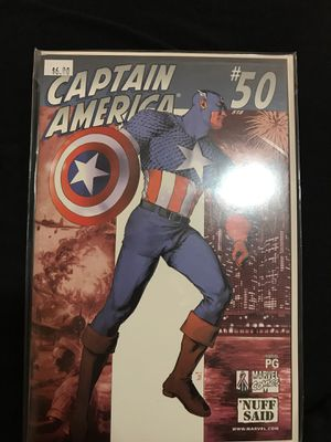 Captain America number 50 issue never been read for Sale in Clarksburg, WV