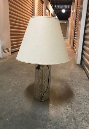 Clear glass lamp for Sale in Richmond, VA