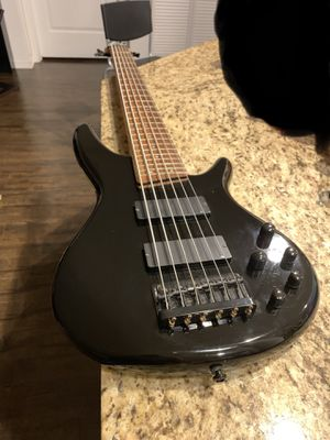 IBANEZ SR406 Bass 6 string electric Guitar Black for Sale in Miami, FL