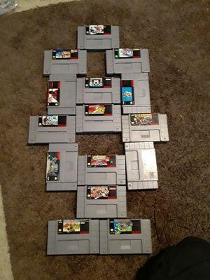 Super nintendo games usados for Sale in Stafford Courthouse, VA