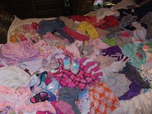 Baby girl..shirts..onezies..nighties..jackets..sets ..jeans..socks ..shoez..bottles..pacif8ers for Sale in Abilene, TX
