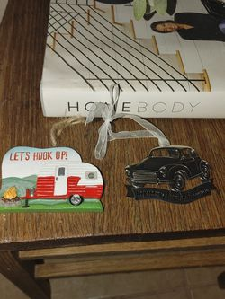 Vintage Car And Camper Ornaments New for Sale in Ocean Shores,  WA