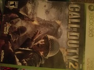 Call of duty 2 xbox 360 game for Sale in Fresno, CA