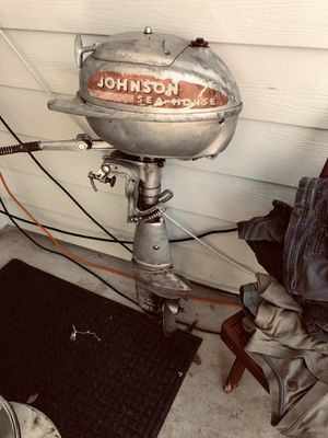 Johnson Sea Horse Outboard Boat Motor. for Sale in Lago Vista, TX