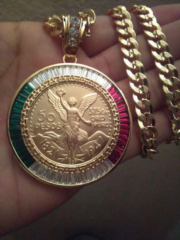 Centenario Gold Chain For June 2020