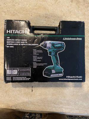 Hitachi, drill 18v for Sale in Doral, FL