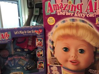 Vintage Amazing Ally Talking Doll & her Kitty Cat from 1999 brand new in Box for Sale in Lake Mary,  FL