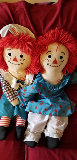 Vintage Raggedy Anne and Andy for Sale in Trenton, NJ