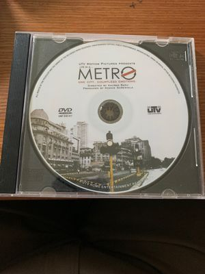 """DVD of Hindi/ Bollywood Movie """"Metro"""" - One City Countless Emotions for Sale in Germantown, MD"""