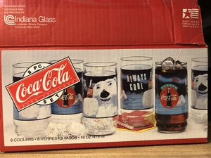 Coca Cola drinking glasses for Sale in Columbus, IN