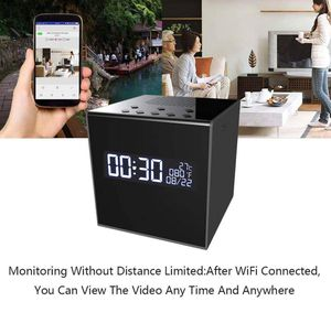 Brand New In Box Music Speaker Hidden Camera 1080P Wireless Hidden WiFi Clock Weather Display Home Surveillance for Sale in Hayward, CA