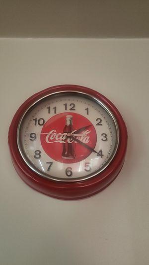Limited Edition Coca Cola Clock for Sale in Lancaster, CA