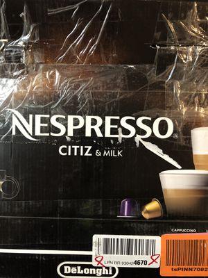 DeLonghi Nespresso Citiz & Milk coffe maker and espresso machine for Sale in Willow Springs, IL