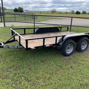 12 ft. Tandem Utility Trailer for Sale in Burleson, TX